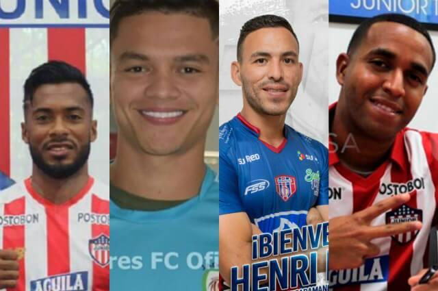 318376_Luis González, Ronaldo Lucena, Henry Pernía y Yohandry Orozco