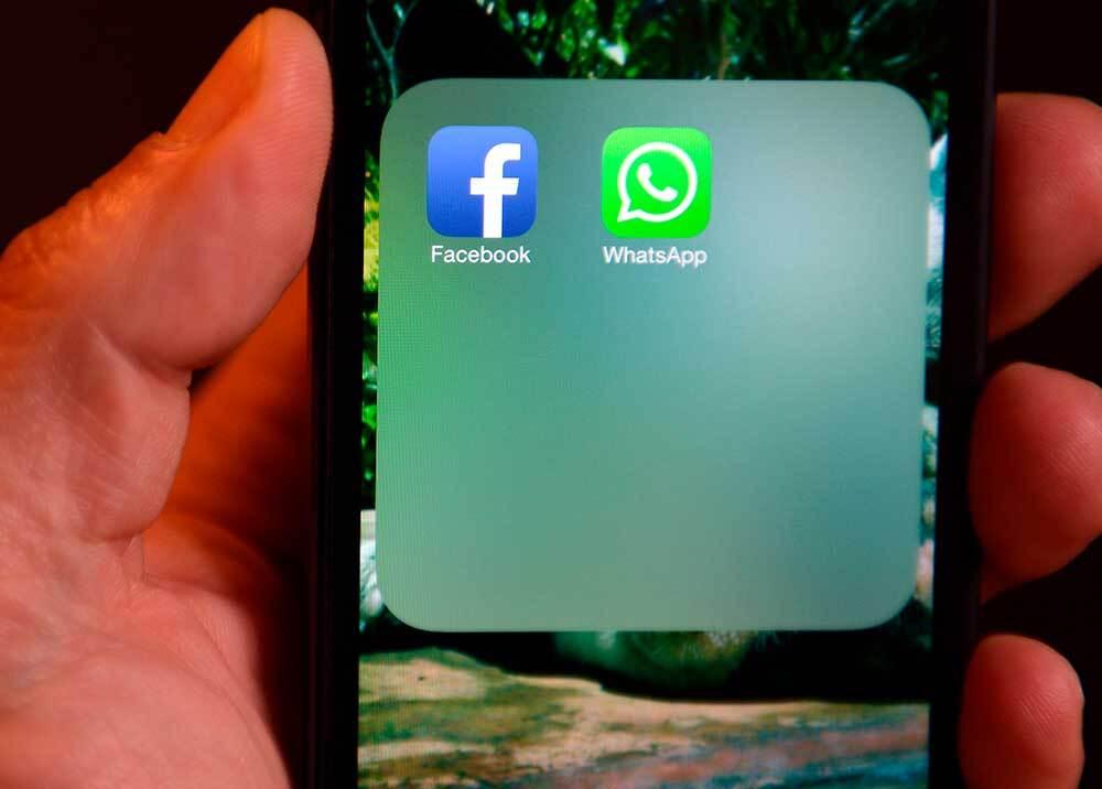 351723_Aplicación de WhatsApp // Foto: AFP, imagen de referencia