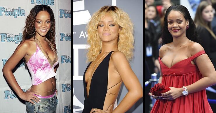 Así Ha Cambiado Rihanna Icono Global Con Solo 30 Años