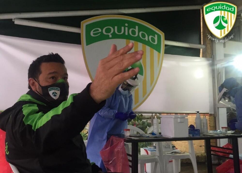 370925_Protocolo de bioseguridad en Equidad / Foto: CD Equidad