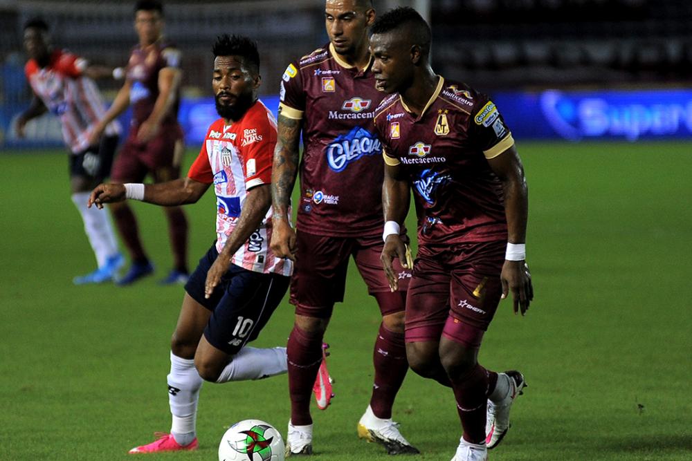 Partido entre Junior y Deportes Tolima. Colprensa.png