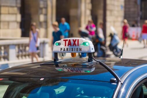 Imagen de referencia, taxi