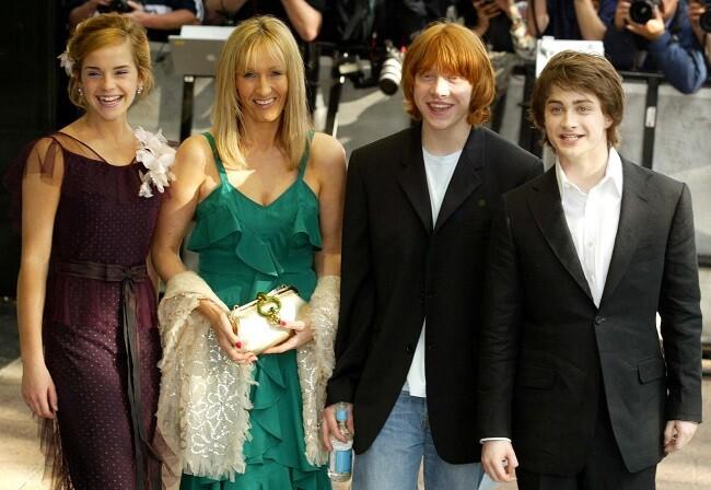 JK Rowling, autora de Harry Potter