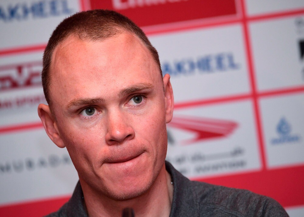 Chris Froome - AFP