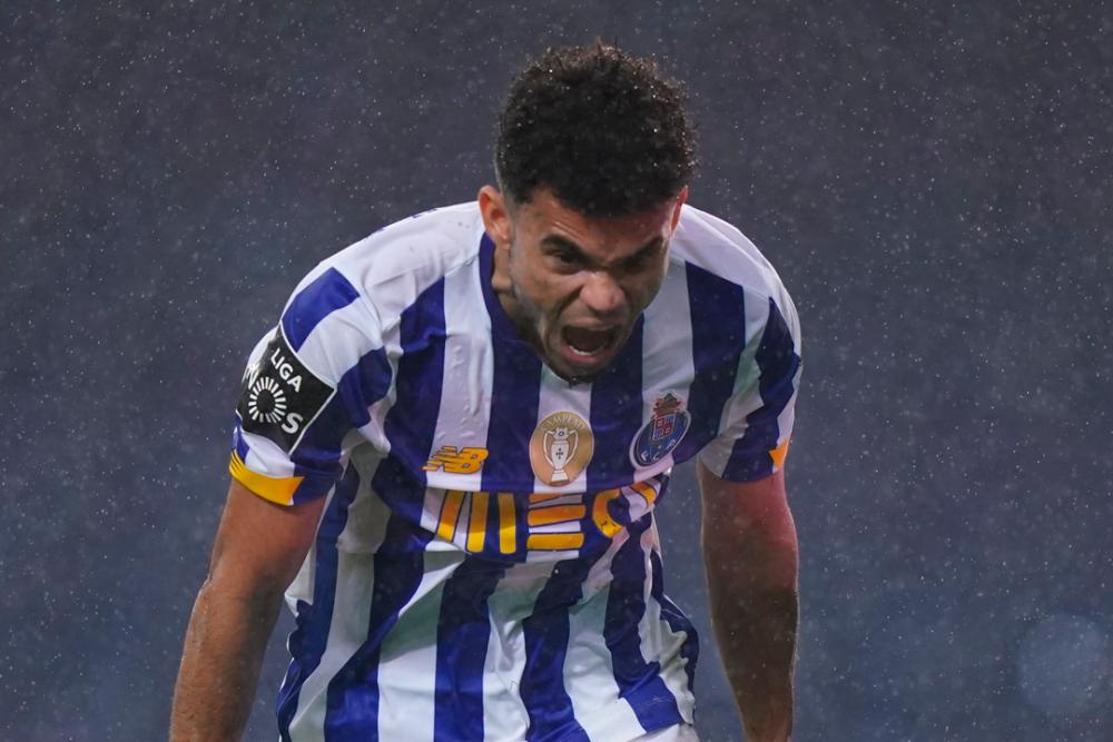 Luis Díaz, jugador de Porto. Porto Oficial.png