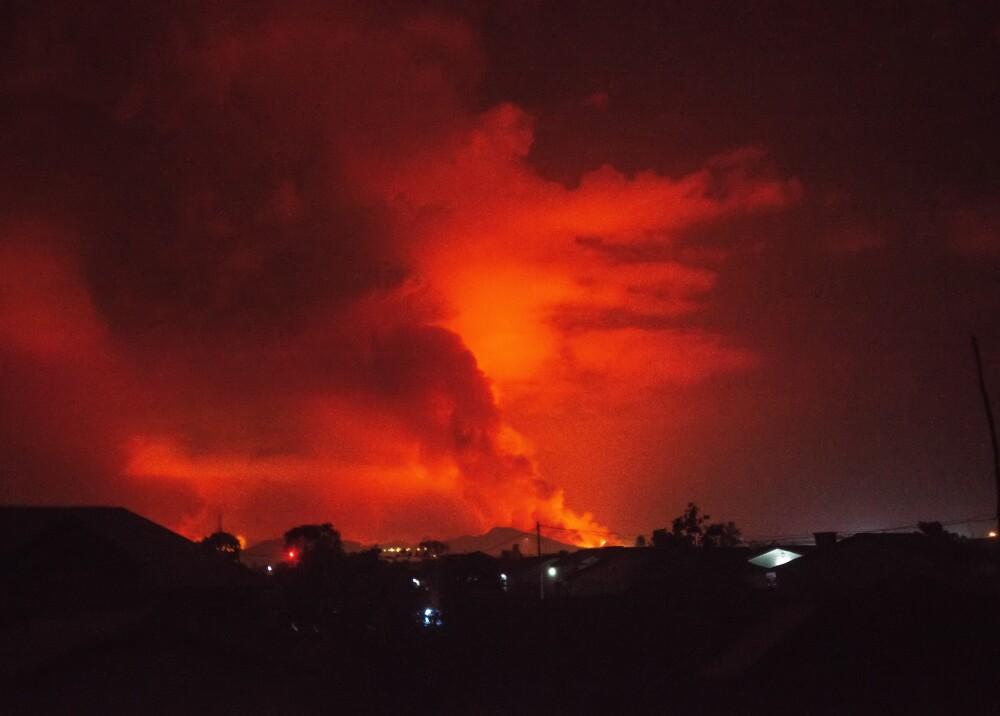 Volcán Nyiragongo República Democrática del Congo Foto AFP.jpg