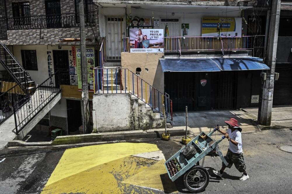 Fachada del centro infantil en Medellín donde se denunciaron abusos a niños