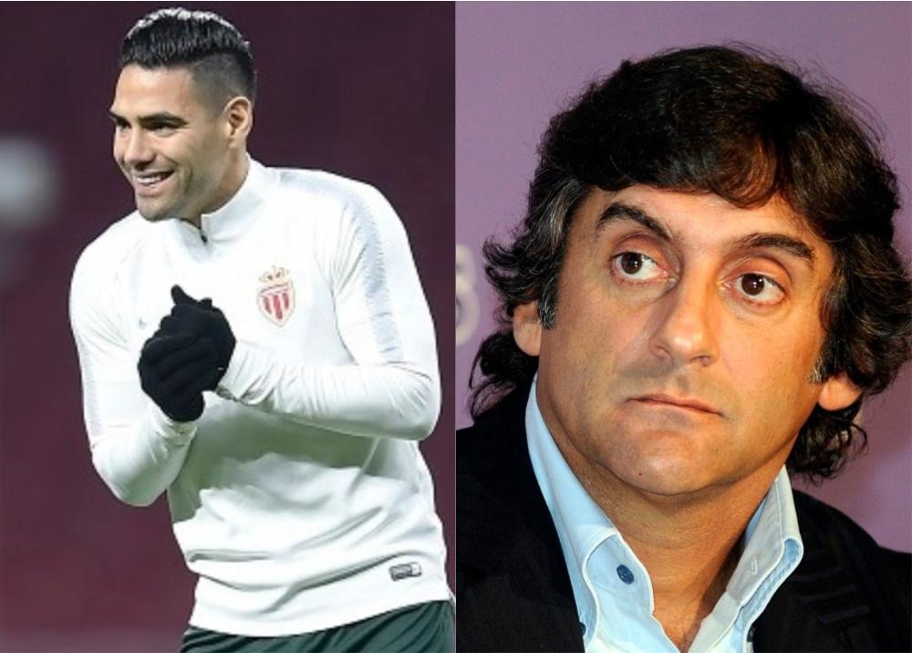 327890_BLU Radio, Falcao y Francescoli / Fotos: AFP