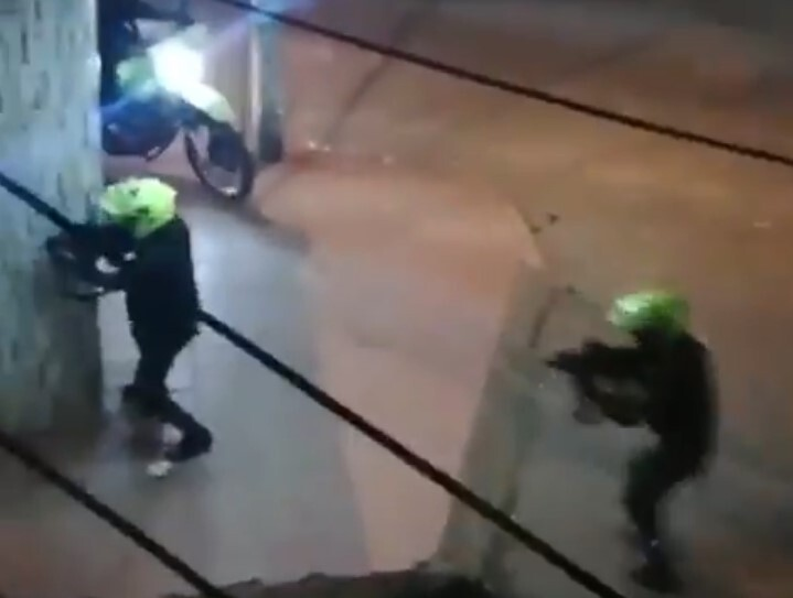 Denuncian excesos de uniformados en Cali contra manifestantes.jpeg