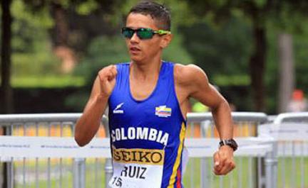 Jorge Ruiz representará a Colombia en los Juegos Olímpicos de Tokio 2020.