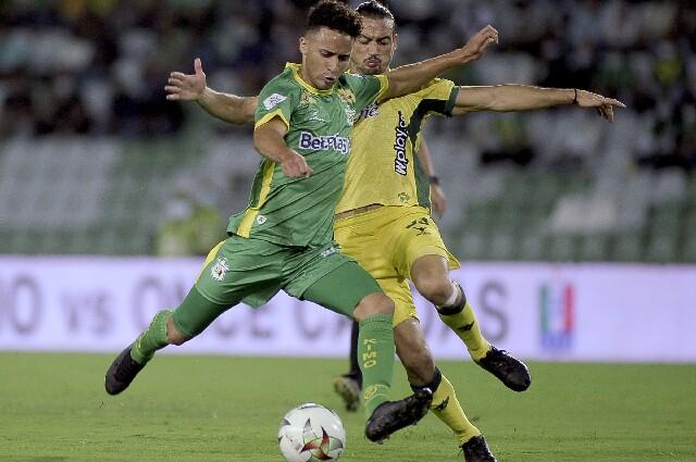 Deportes Quindío contra Atlético Bucaramanga, en la Liga colombiana