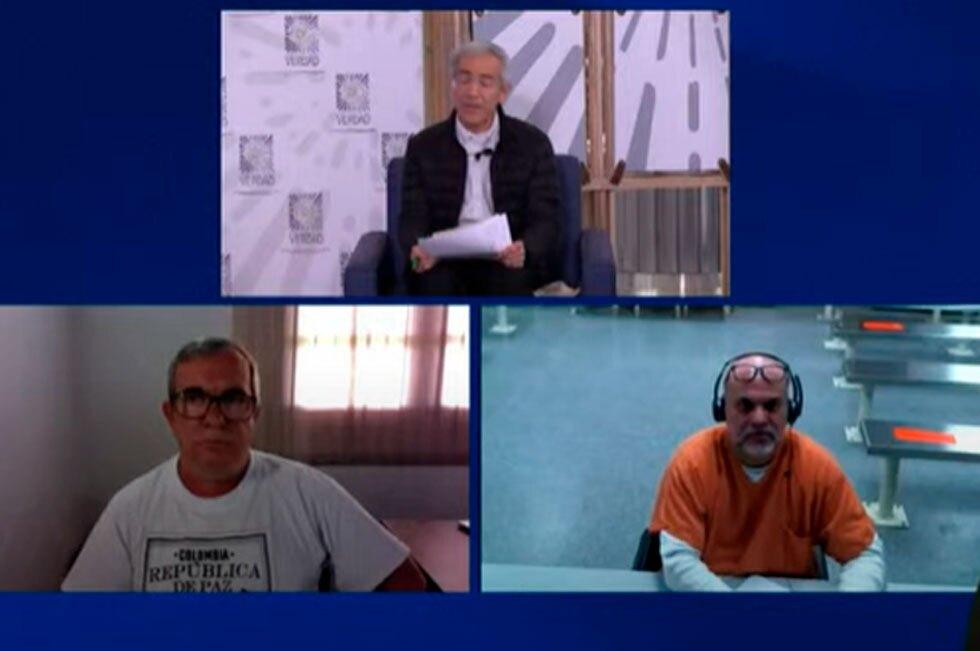 Timochenko y Mancuso en Comisión de la Verdad