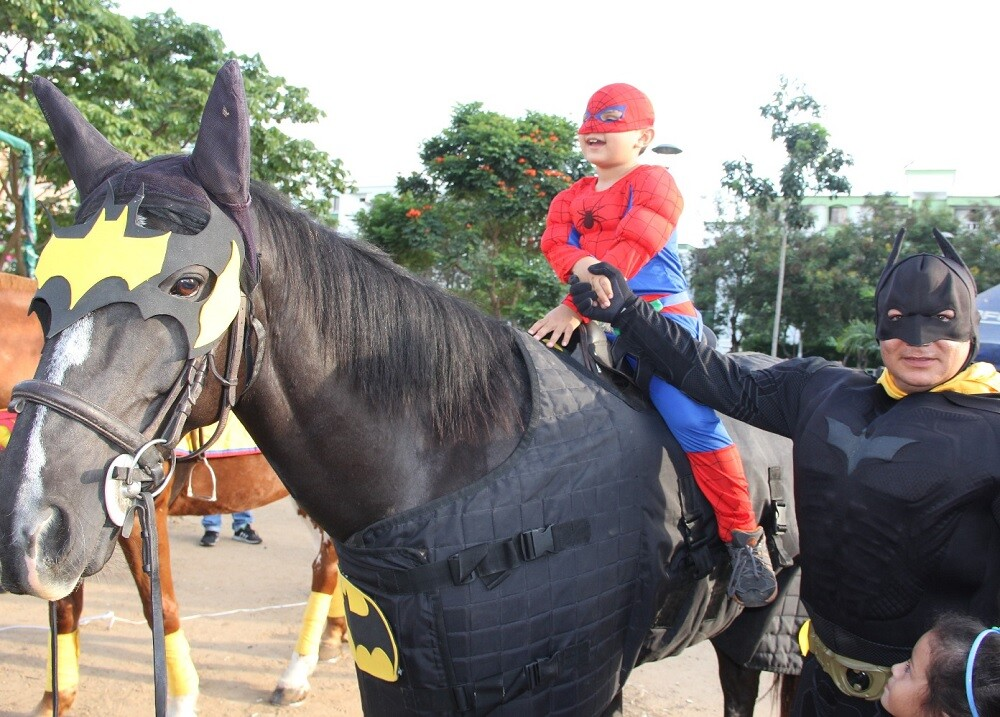 272549_Foto campaña Halloween Policía Metropolitana de Bucaramanga