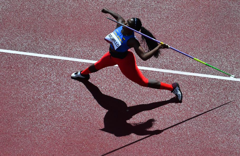 María Lucelly Murillo se quedó por fuera de la final del lanzamiento de jabalina de los Juegos Olímpicos Tokio 2020.