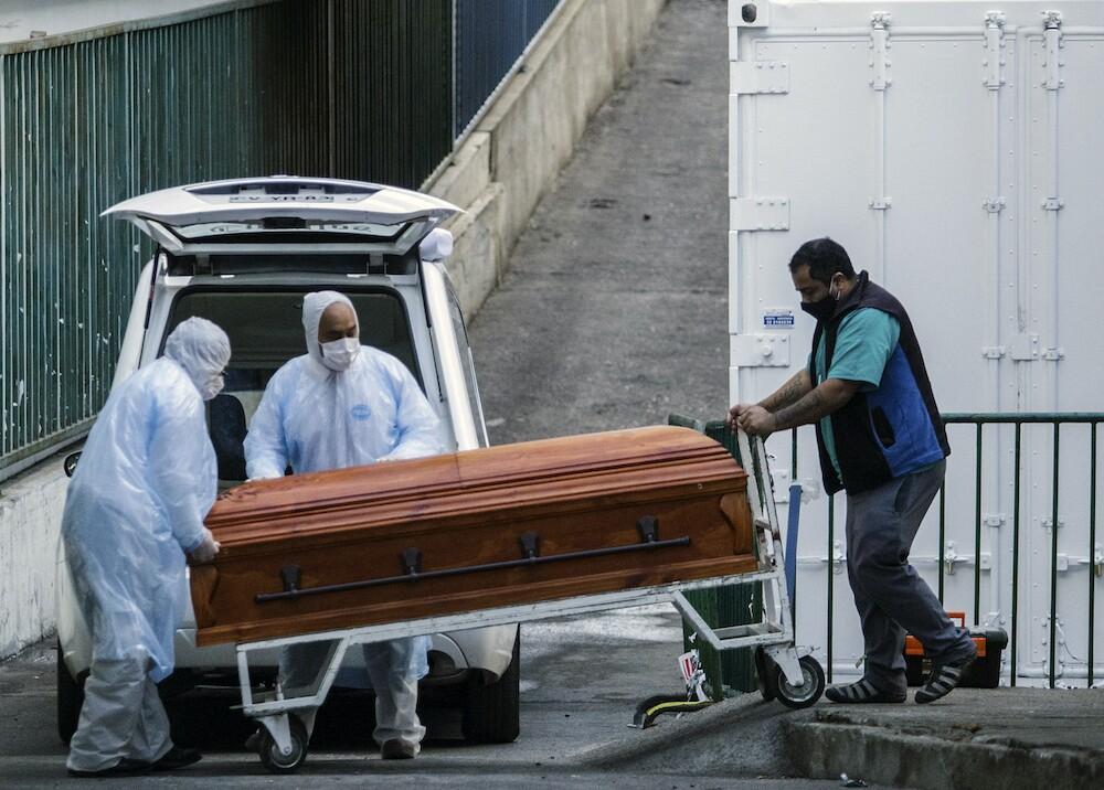 367418_Muertos por coronavirus en Chile / Foto: AFP