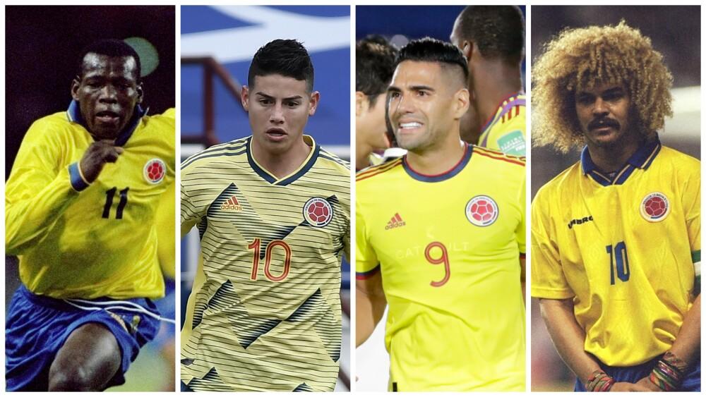 Selección Colombia histórica