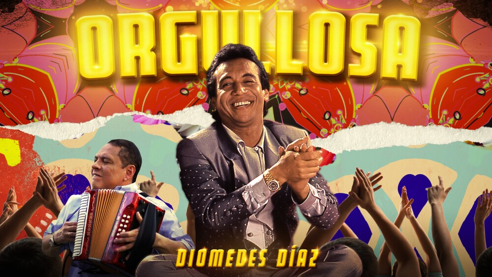 Diomedes Díaz orgullosa