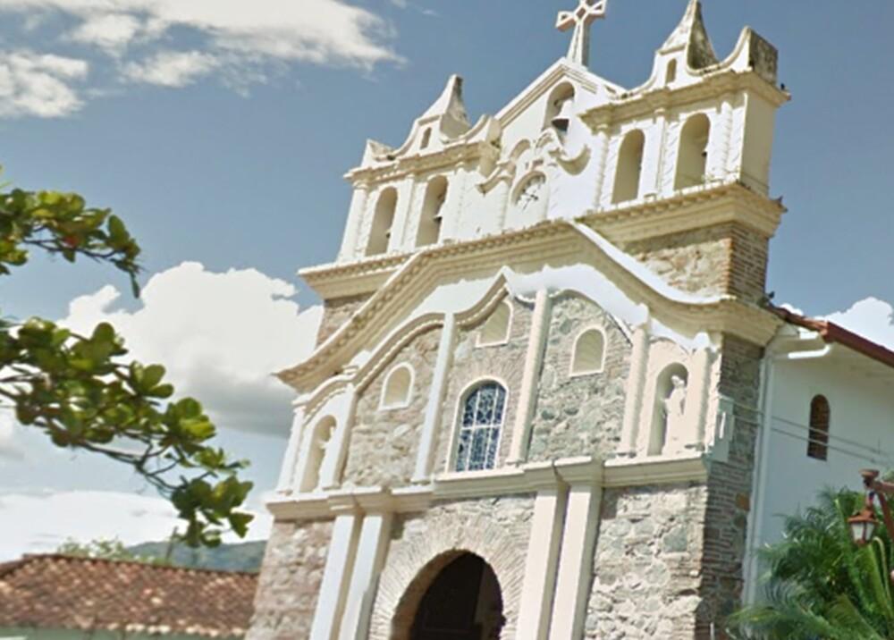 295322_Blu Radio. Iglesia Anzá / Foto: Gobernación de Antioquia