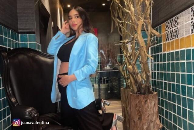 Juana Valentina Restrepo habla de su embarazo.