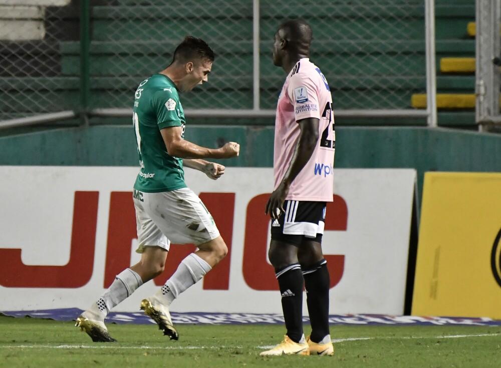 Agustín Palavecino Deportivo Cali vs. Millonarios
