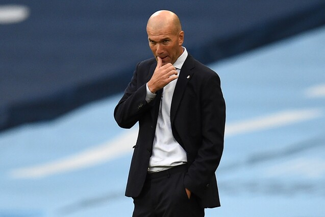 Zidane contra Manchester City