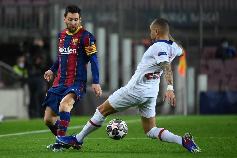 Lionel Messi-BARCELONA-PSG
