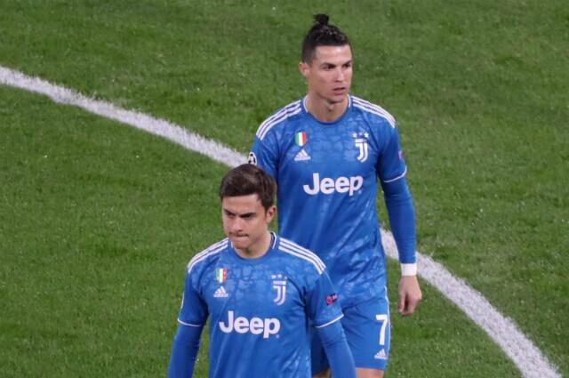 331944_Cristiano Ronaldo y Dybala de Juventus