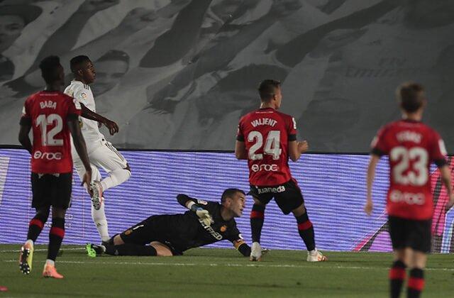 339669_Gol de Vinícius en el Real Madrid vs. Mallorca