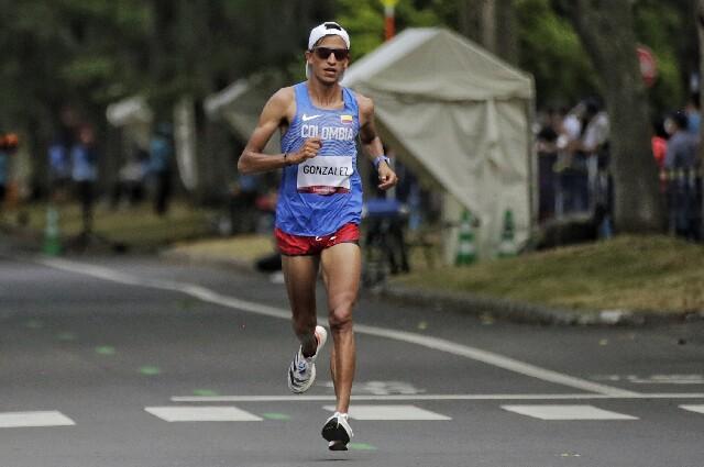 Jeisson Suárez, en los Juegos Olímpicos de Tokio 2020
