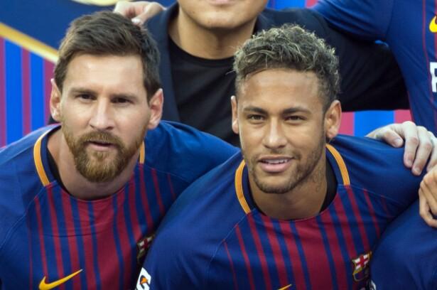 Lionel Messi y Neymar