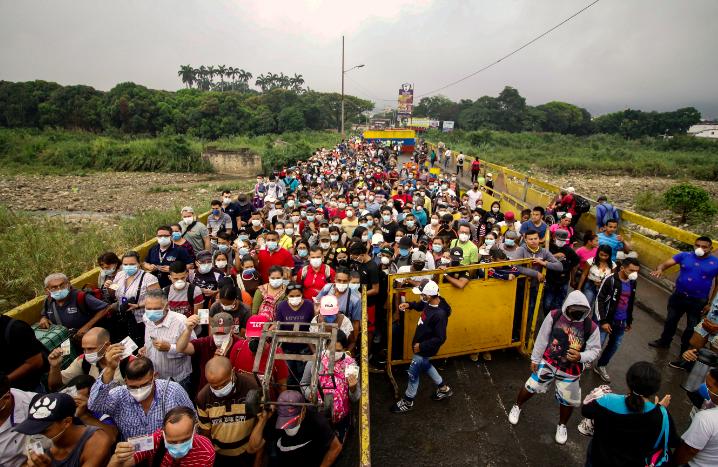 Fronteras de Colombia en tiempos de pandemia.
