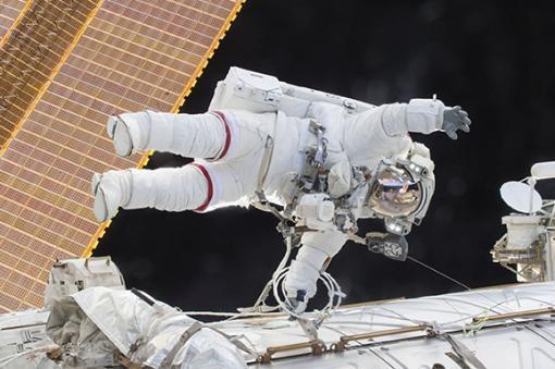 19896_BLU Radio. Astronauta - referencia // Foto: AFP