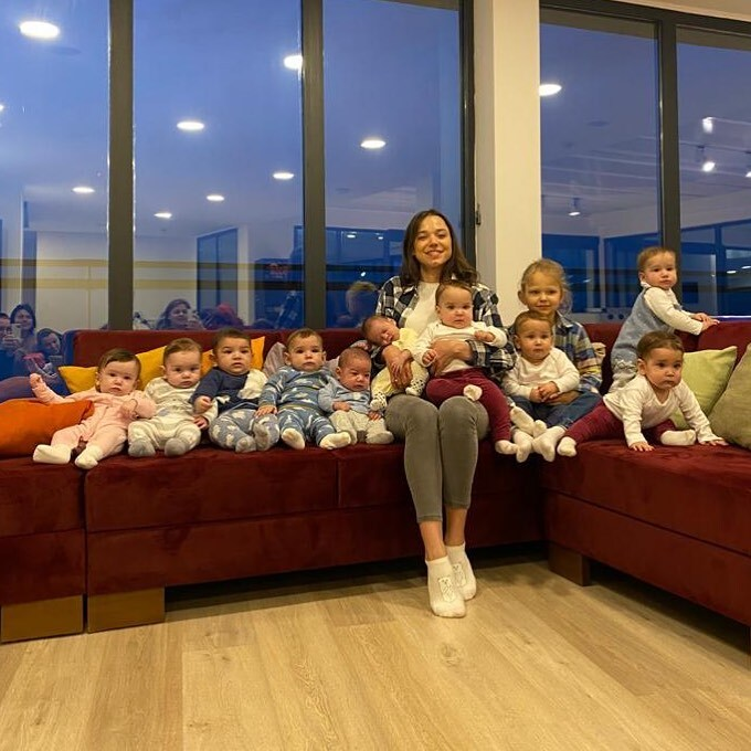 Christina Ozturk y su familia
