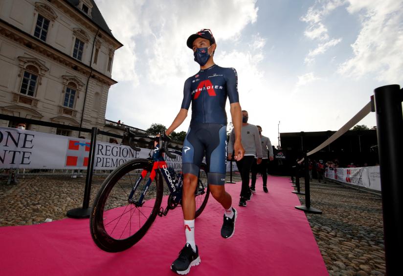 Egan Bernal tendrá el dorsal número uno en el Giro de Italia 2021.