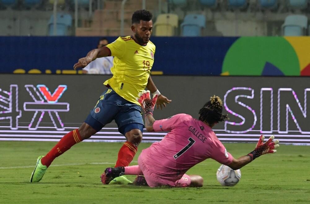 Gol de Miguel Ángel Borja