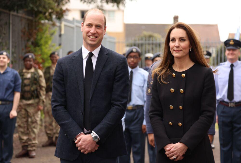 Duque y duquesa de Cambridge.