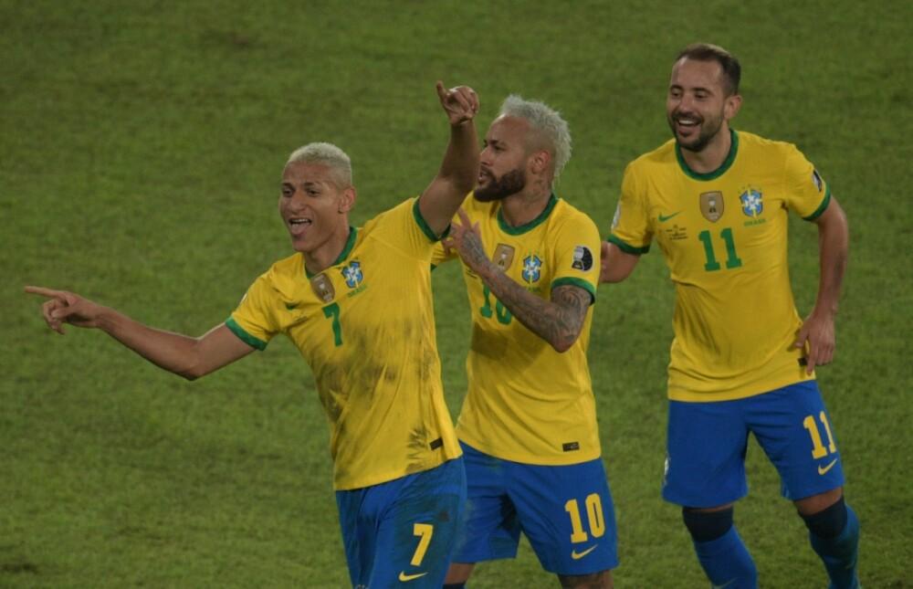 Selección de Brasil AFP.
