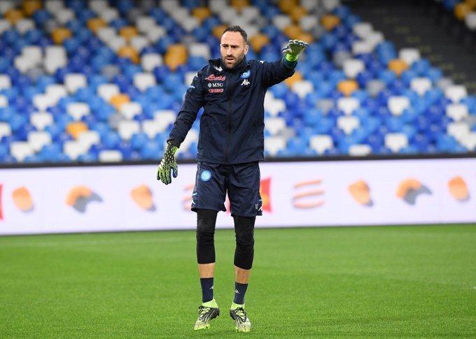 David Ospina, entrenamiento Nápoles