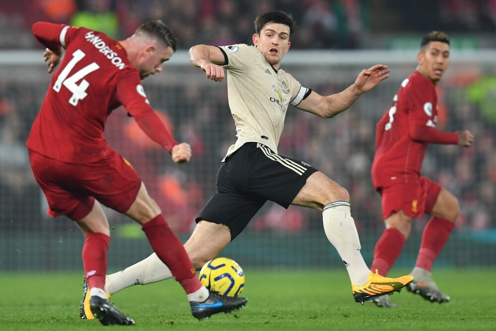 Liverpool - Manchester United. Foto: AFP