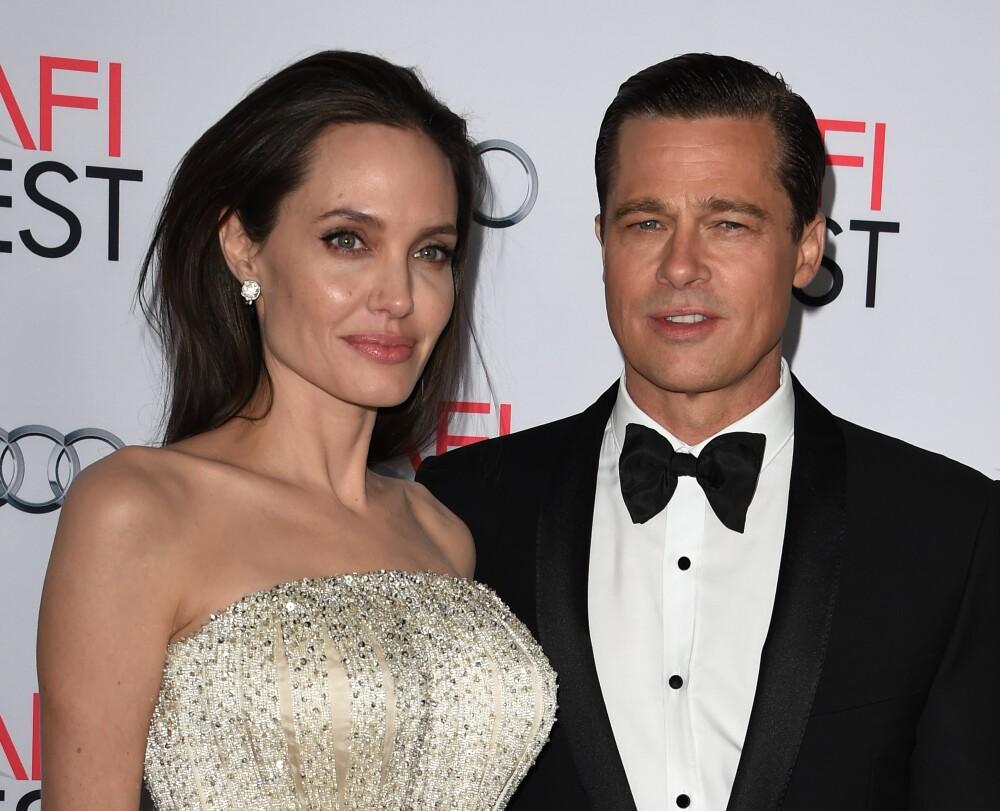 249252_Angelina Jolie - Brad Pitt / Foto: AFP