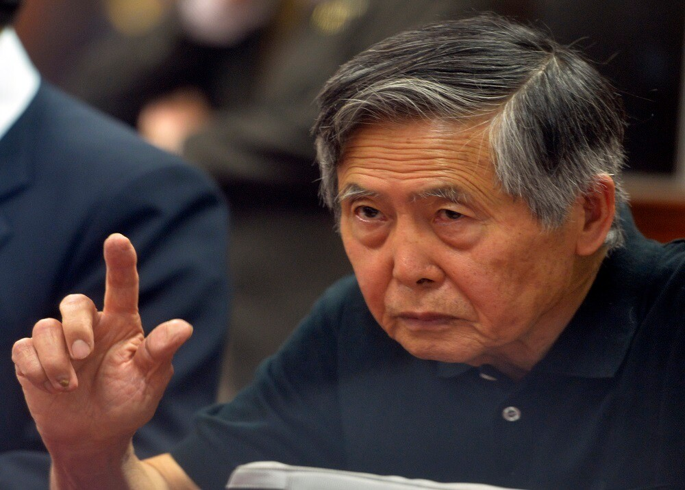 297959_BLU Radio. Alberto Fujimori / Foto: AFP