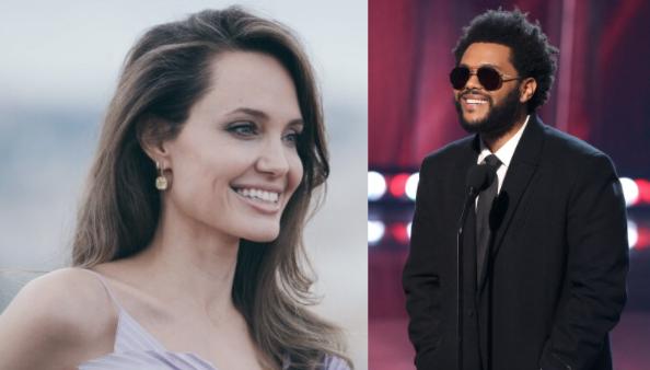 The Weeknd y Angelina Jolie