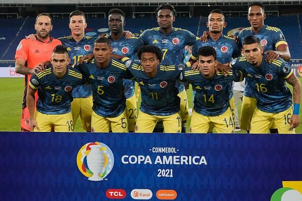 Selección Colombia en Copa América 2021
