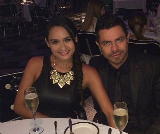 Peter Albeiro y su esposa.JPG
