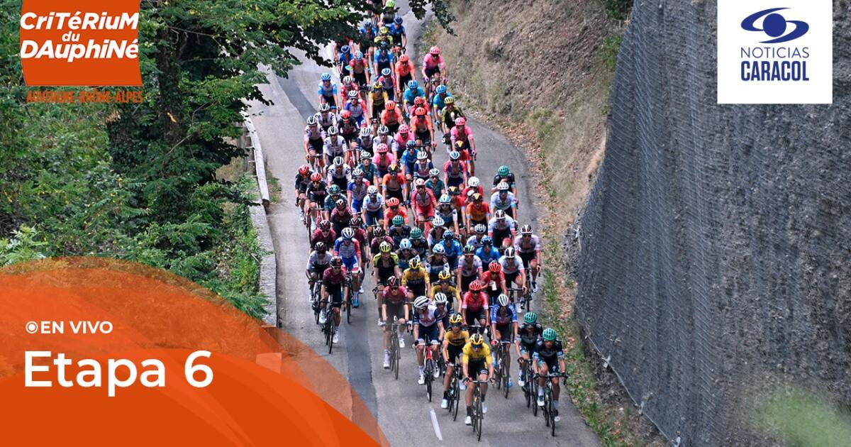 Critérium del Dauphiné 2021 en vivo: vea la etapa 6 de la competencia