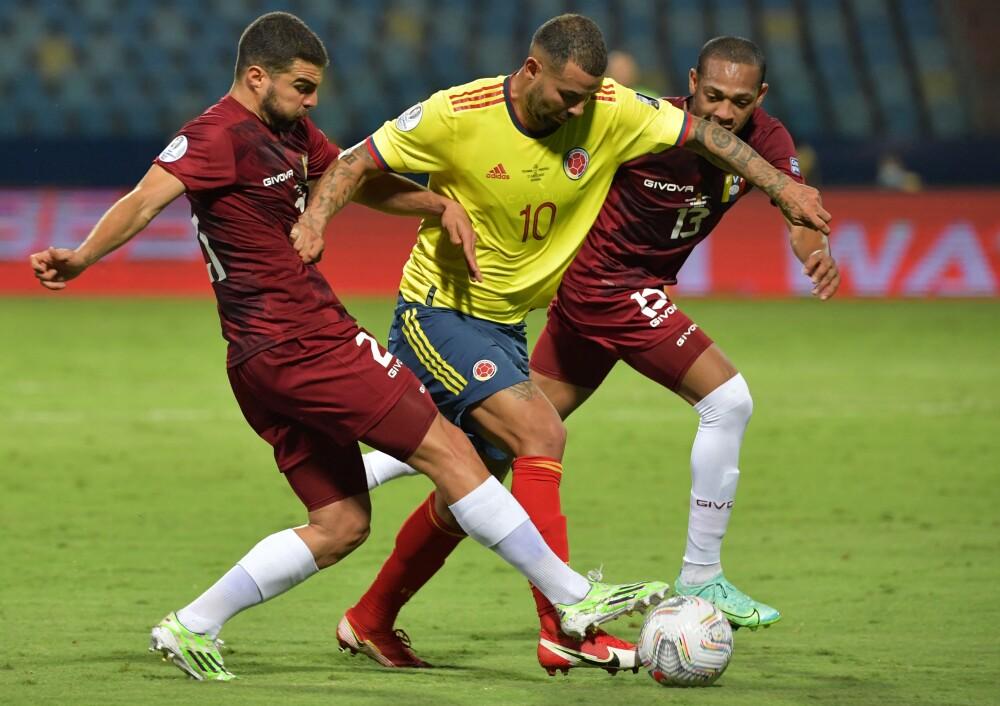 Edwin Cardona, en Copa América