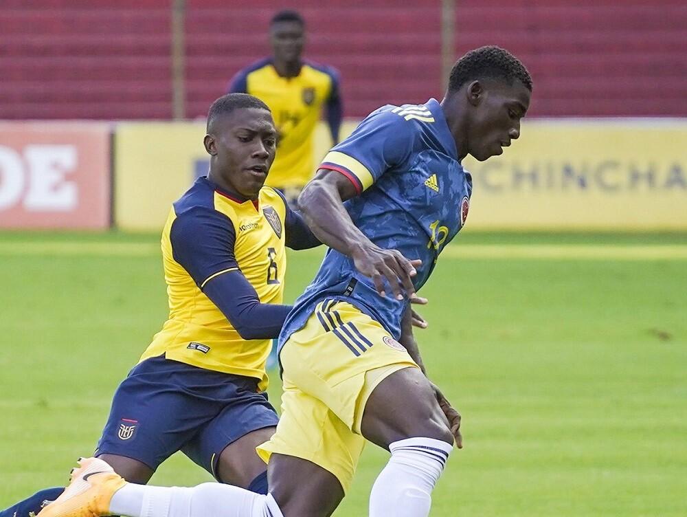 Colombia Sub-20. Foto: Twitter @FCFSeleccionCol