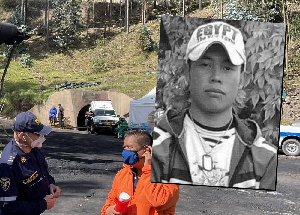 Rescatan cuerpo del minero Jhon Fuentes en Socotá, Boyacá