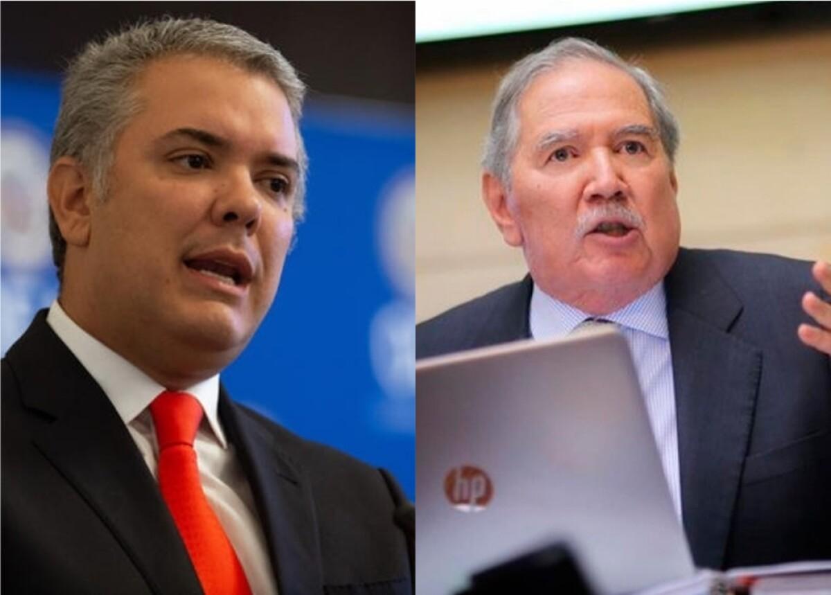Presidente Duque explicó por qué homenajeó a exministro Guillermo Botero