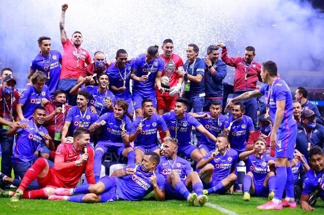 Cruz Azul se coronó campeón tras vencer a Santos Laguna en la final